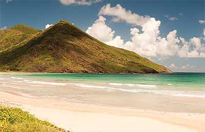 Beach on St. Kitts - St. Kitts Tourism
