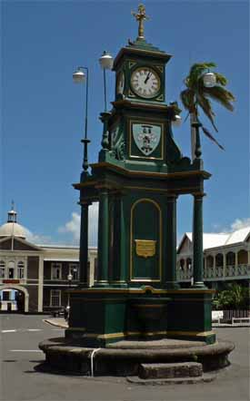 Circus - Basseterre Memorial Clock Tower